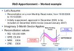 rbd apportionment worked example