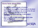some facts about sqa