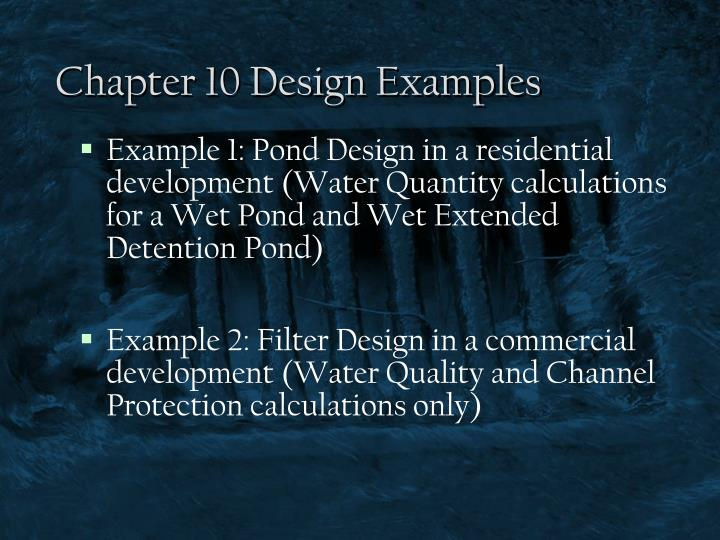 chapter 10 design examples n.