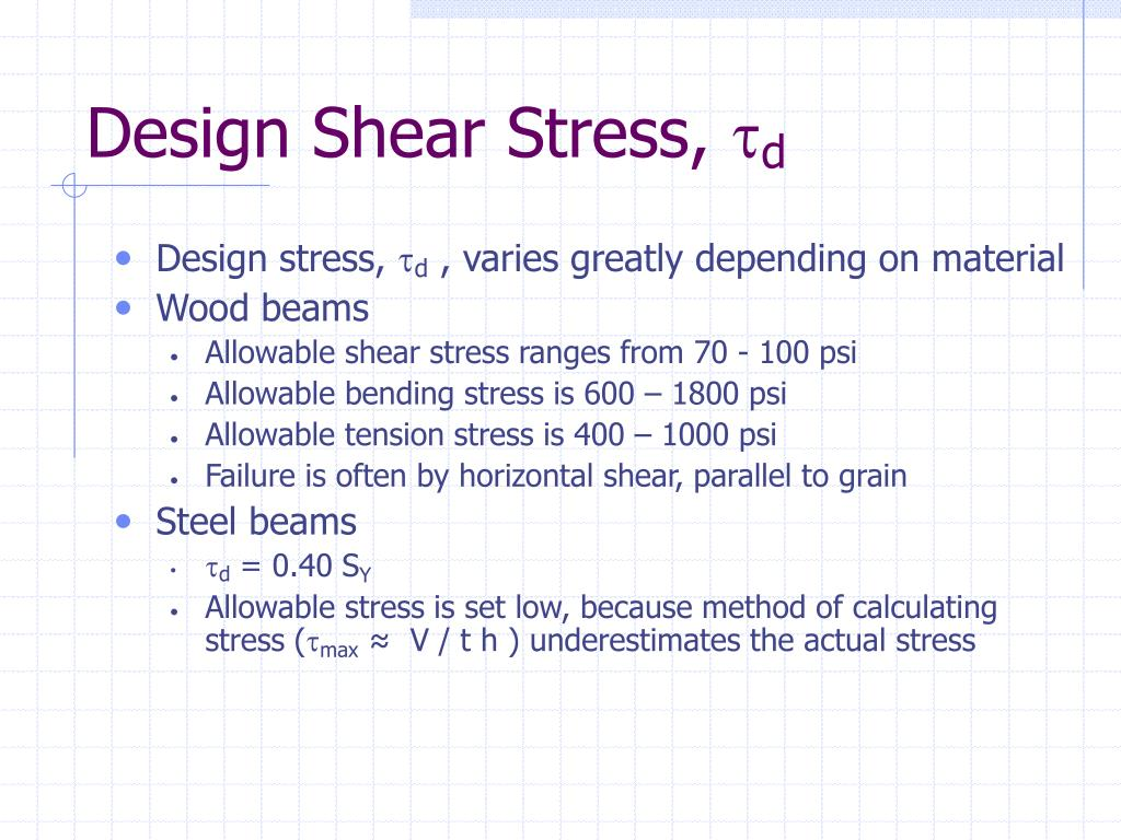 PPT - CTC / MTC 222 Strength of Materials PowerPoint