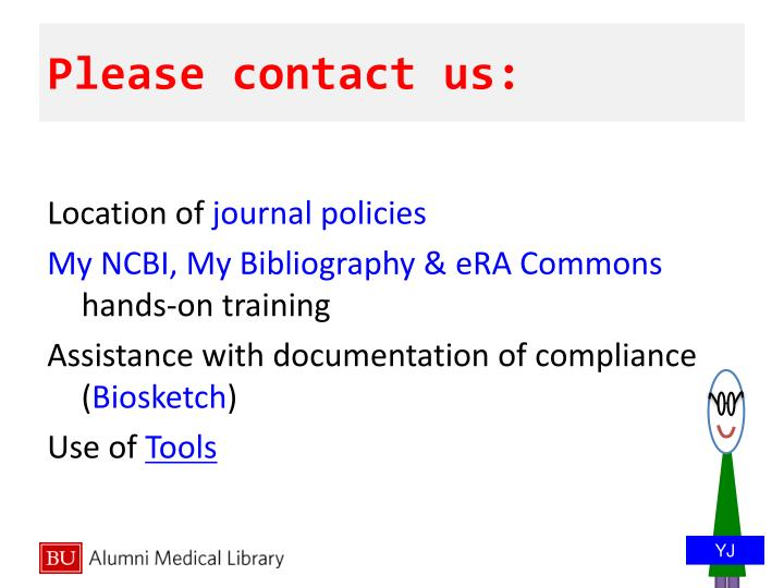 Please contact us: