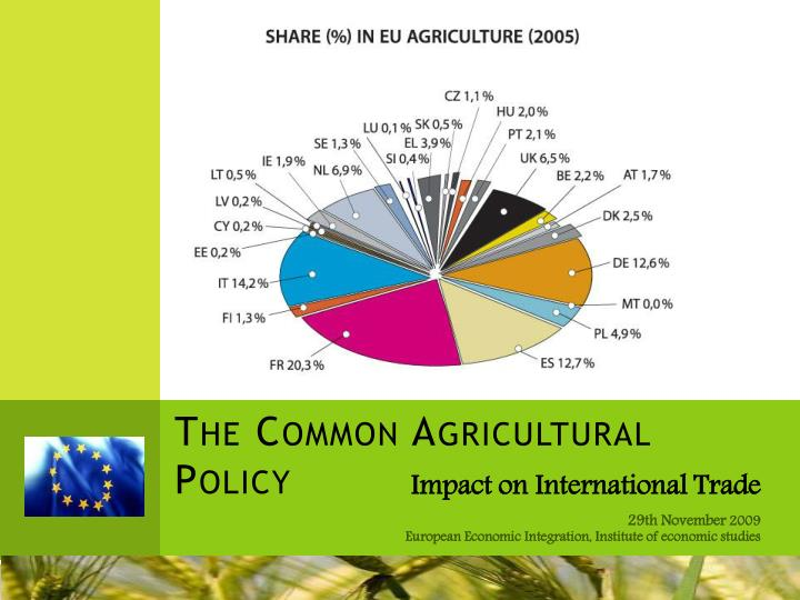 the common agricultural policy and the eu budget economics essay Britain's farmers will need help  subsidies under the eu's common agricultural policy  eu is so heavily committed to agricultural protectionism.