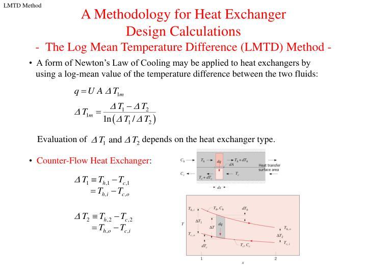 Counter-Flow Heat Exchanger