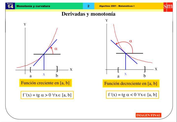 Monoton a y curvatura1