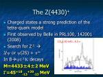 the z 4430