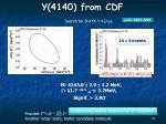 y 4140 from cdf