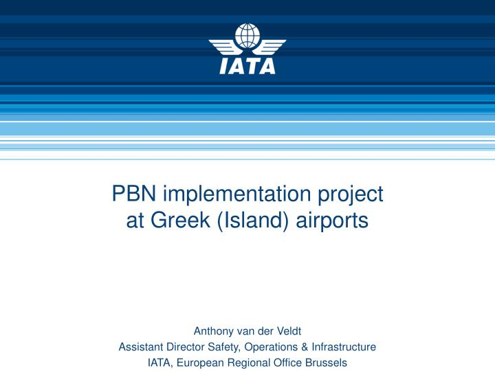 pbn implementation project at greek island airports n.