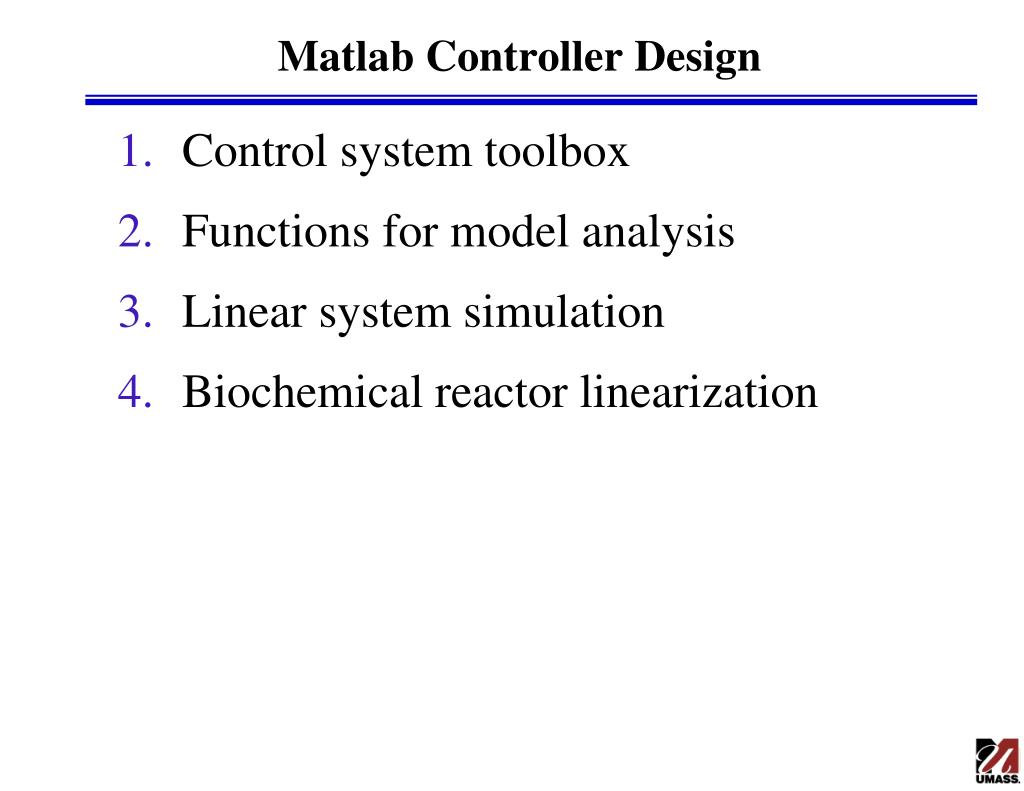 PPT - Matlab Controller Design PowerPoint Presentation - ID:3221301