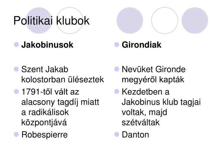 Jakobinusok