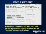 edit a patient1