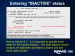 entering inactive status2