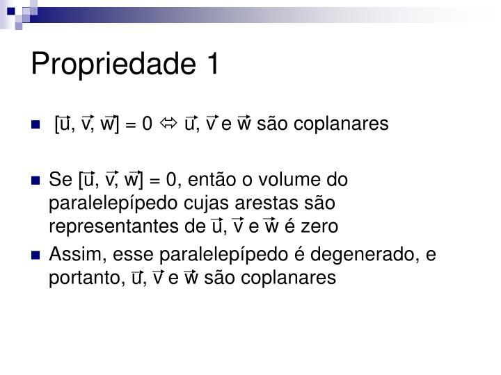 Propriedade 1