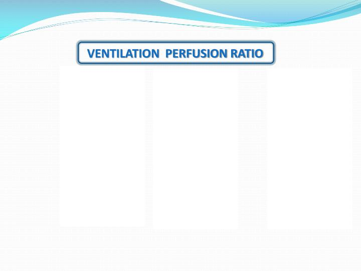 Ventilation Perfusion Ratio : Ppt alveolar ventilation perfusion powerpoint