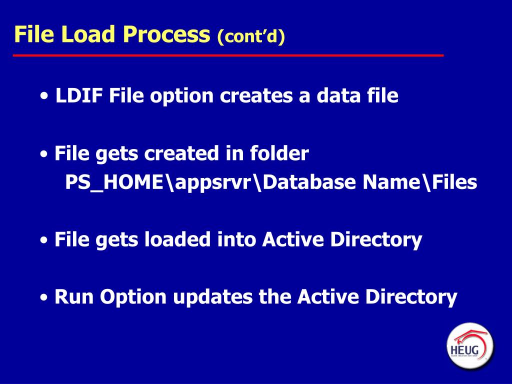 PPT - LDAP User Management with PeopleSoft Campus Directory
