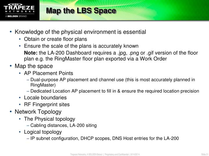Map the LBS Space