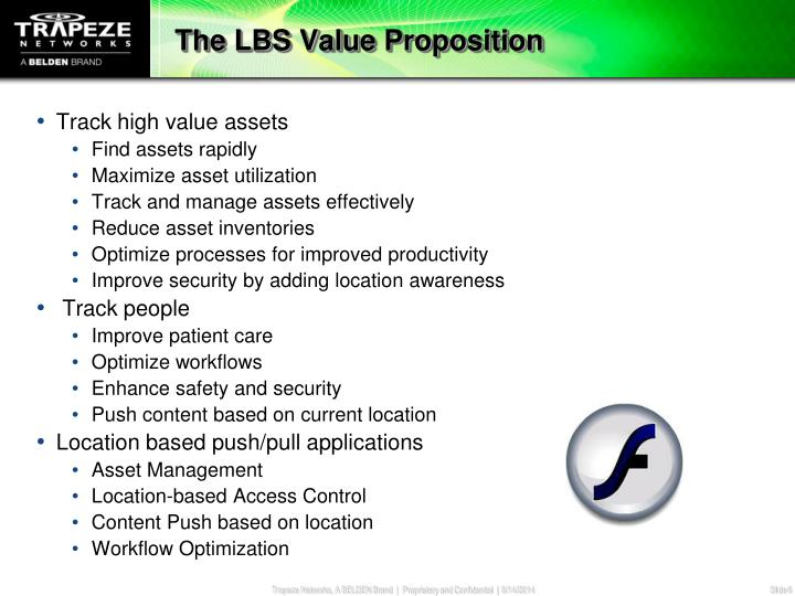 The LBS Value Proposition