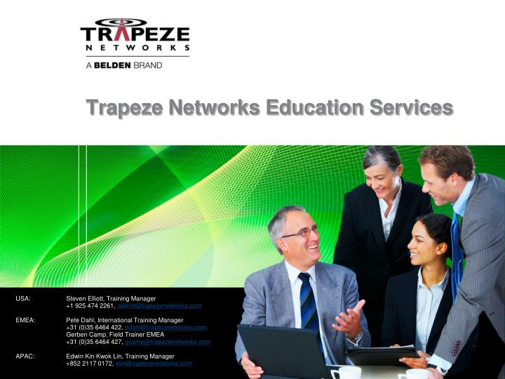 Trapeze Networks Education Services