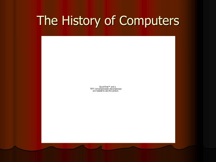 explain briefly the history of computer History of operating systems  historically operating systems have been tightly related to the computer architecture, it is good idea to study the history of operating systems from the architecture of the computers on which they run.
