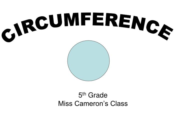 5 th grade miss cameron s class