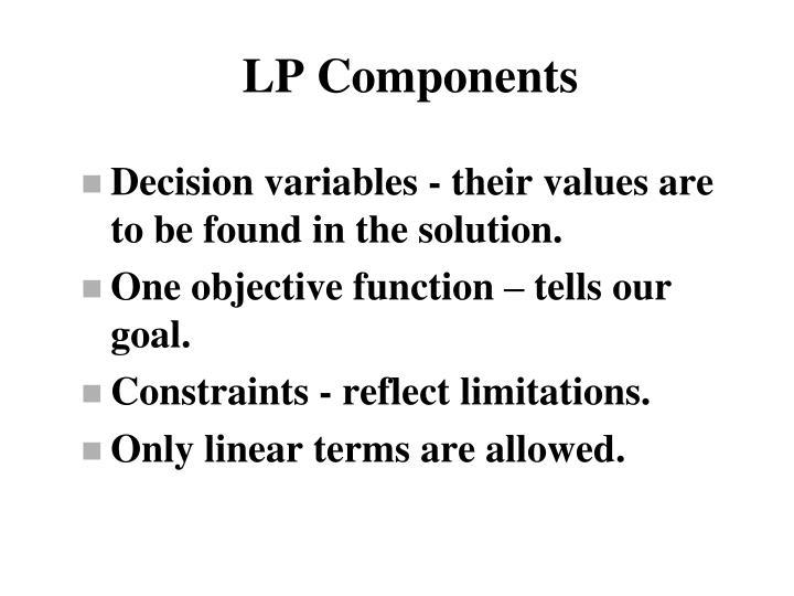LP Components