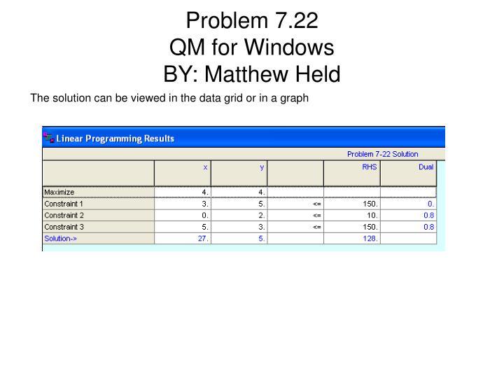 Problem 7.22
