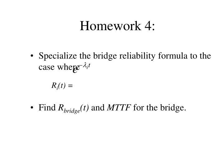 Homework 4: