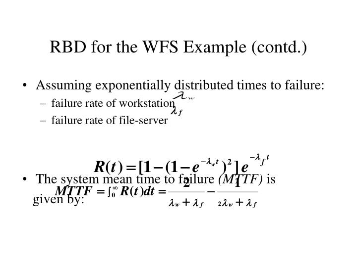 RBD for the WFS Example (contd.)