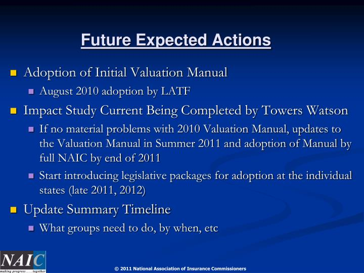 Future Expected Actions