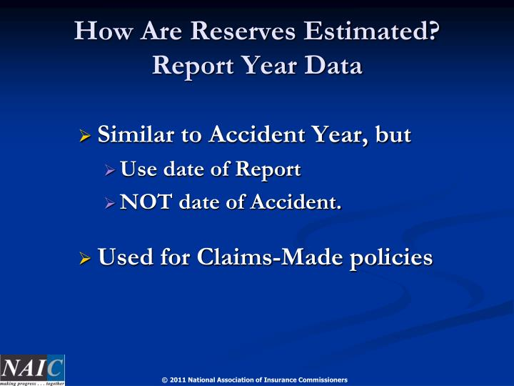 How Are Reserves Estimated?