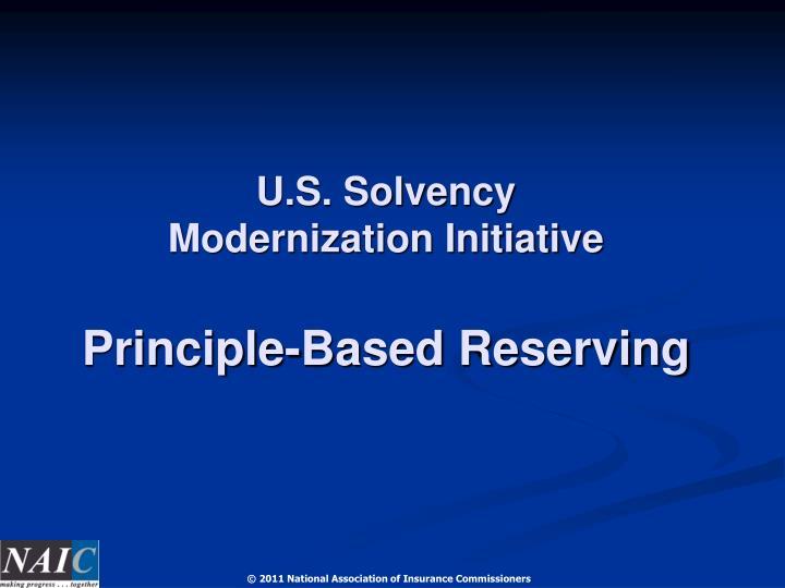 U.S. Solvency