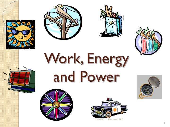 analysis of work energy and power