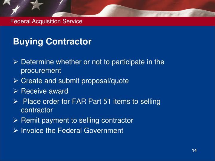 Buying Contractor