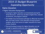 2014 15 budget blueprint expanding opportunity3