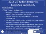 2014 15 budget blueprint expanding opportunity5