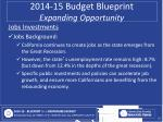2014 15 budget blueprint expanding opportunity9