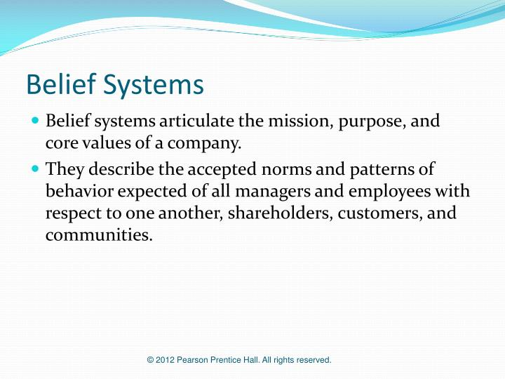 Belief Systems
