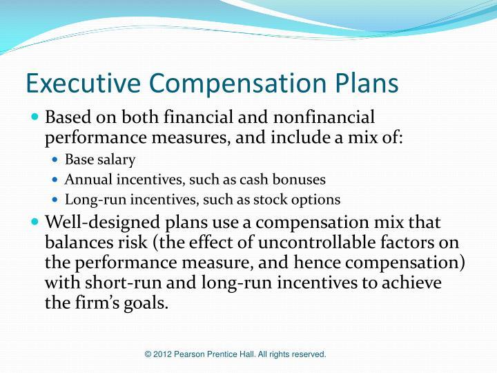 Executive Compensation Plans