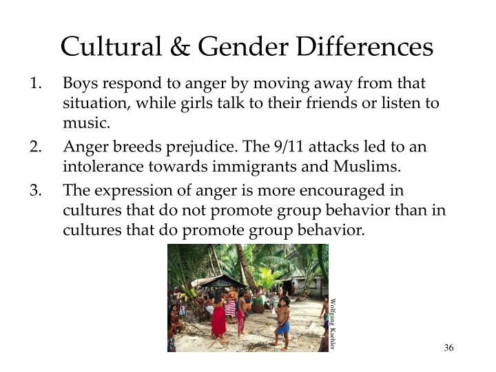 Cultural & Gender Differences