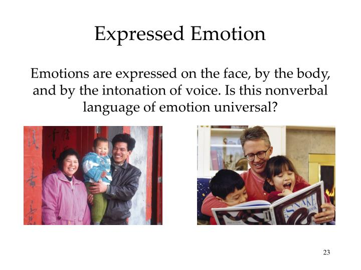 Expressed Emotion