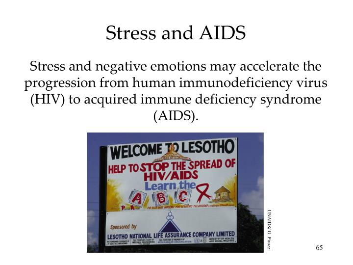 Stress and AIDS