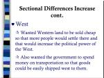sectional differences increase cont1