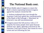 the national bank cont
