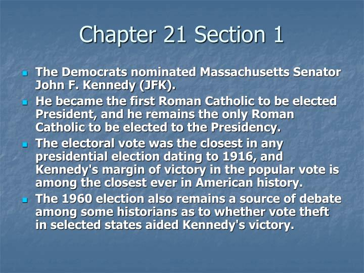 Chapter 21 section 11