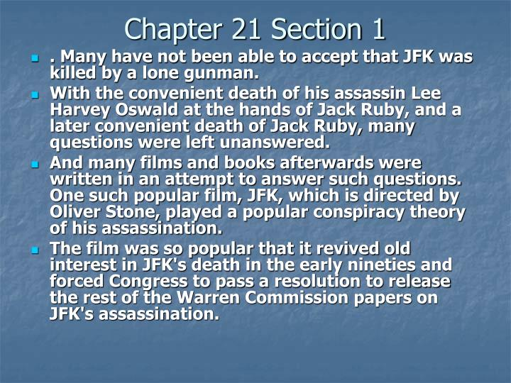 Chapter 21 Section 1