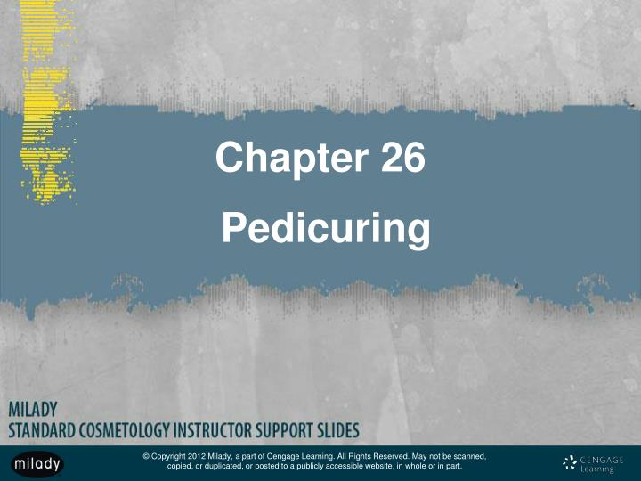 PPT Chapter 26 Pedicuring PowerPoint Presentation ID 3223814