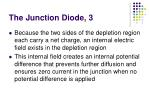 the junction diode 3