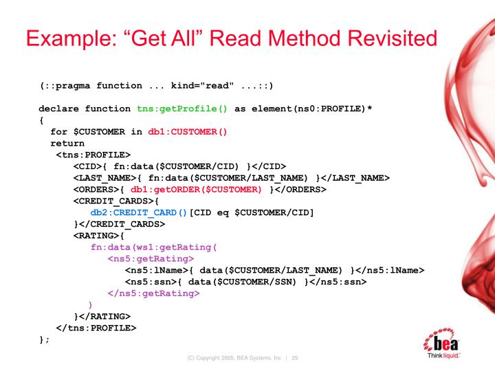 "Example: ""Get All"" Read Method Revisited"