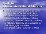 i will be a better multicultural educator24