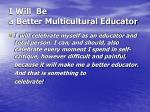 i will be a better multicultural educator29