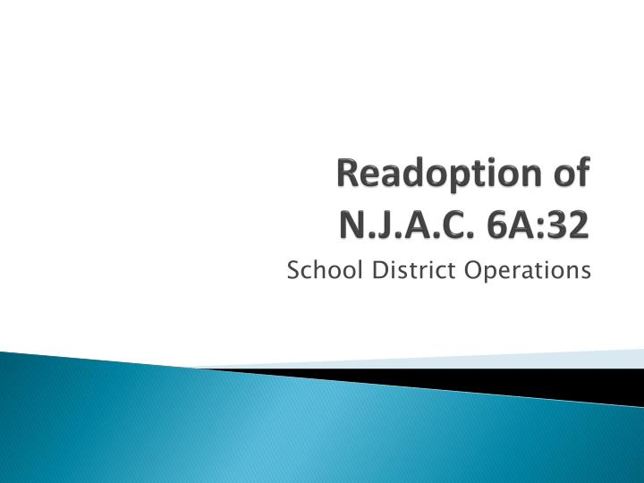 Readoption of n j a c 6a 32
